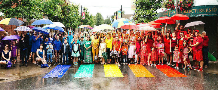 Add Chilliwack to Guiness World Book of Records for being the city with the most rainbow crosswalks!