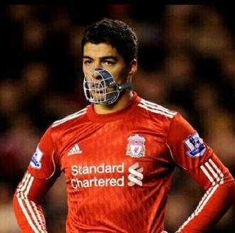 Get  LUIS SUAREZ out of livepool and ENGLAND