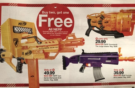 End sales of toy assault weapons at Target!