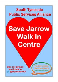 Save Jarrow Walk In Centre
