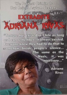 Extradite Adriana Rivas for complicity in the torture and murder during the coup in Chile