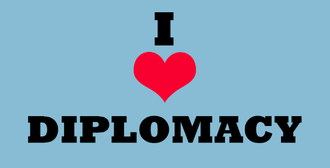 I support diplomacy