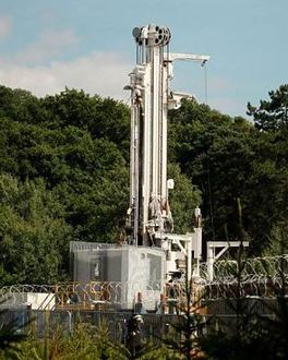 Fracking to happen at the houses of parliament yes