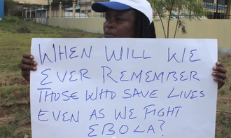 Help Liberian health care workers fight Ebola