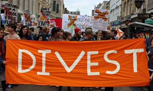 Universities Superannuation Scheme Divest from Fossil Fuels