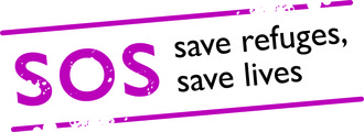 Sos save refuges save lives logo  cmyk
