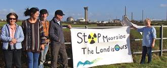 Stop moorside  the land is ours