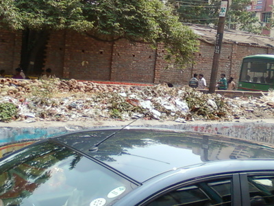 REMOVE ALL THE ROAD SIDE GARBAGE & MAKE CLOSED DRAINAGE SYSTEMS
