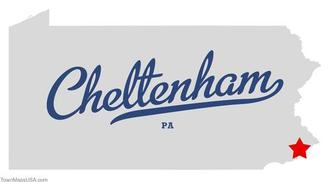 Map of cheltenham pa