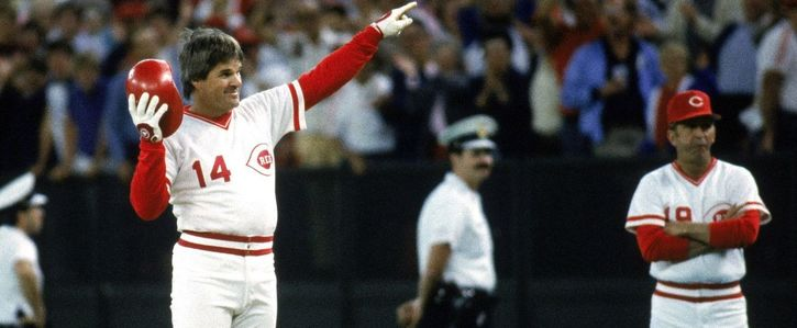 Get Pete Rose into the Hall of Fame