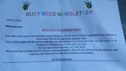 Keep Busy Bees Day Nursery OPEN