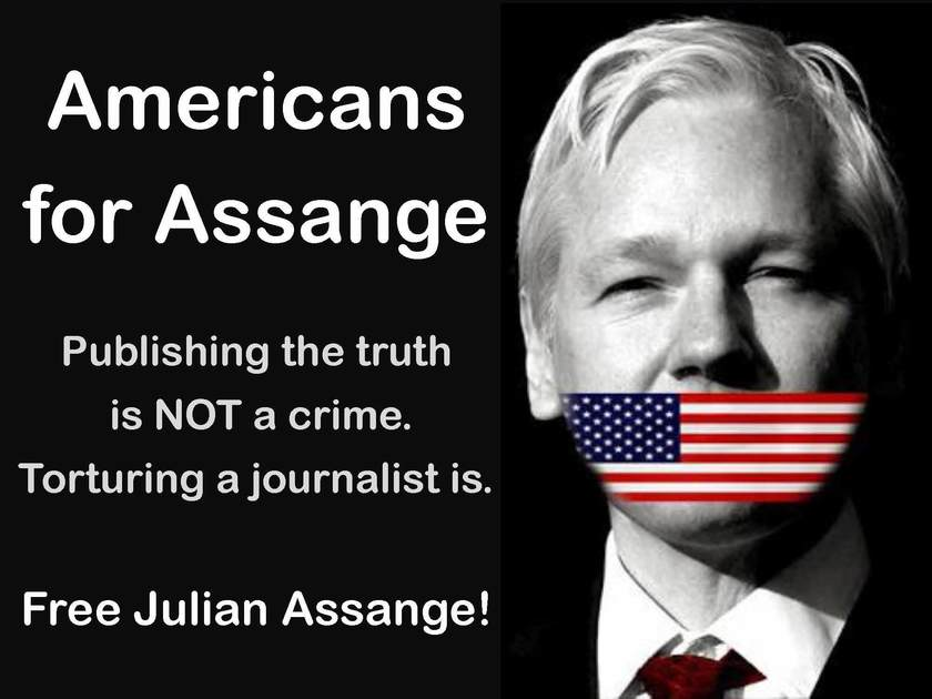 DO NOT EXTRADITE JULIAN ASSANGE to the USA