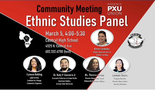 Ethnic Studies in the Phoenix Union High School District