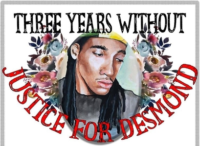 3 years without Justice for Desmond Phillips