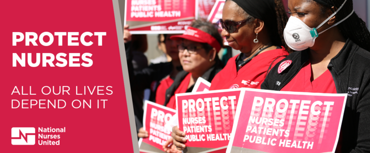 Tell Congress: We demand nurses are protected during COVID-19
