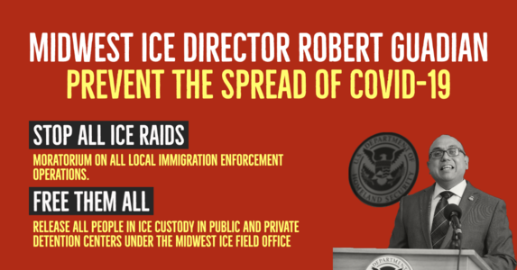 Midwest ICE Director Guadian Prevent the Spread of COVID-19 Pandemic