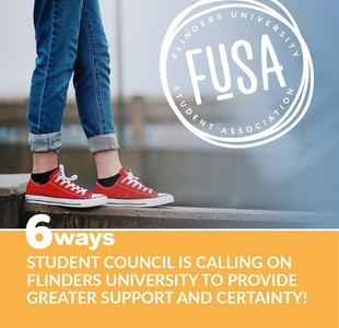 6 Ways FUSA is Calling on Flinders University to Provide Greater Support and Certainty for Students