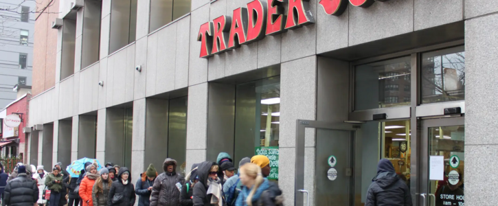 NYC Trader Joe's Crew need Safe Work Conditions and Hazard Pay