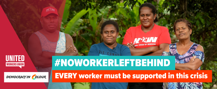 Every worker must be supported in this crisis!