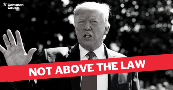 Stop Trump's attacks on transparency and the COVID-19 response package