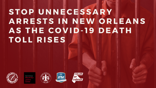 Health Not Handcuffs: Stop Unnecessary Arrests in New Orleans