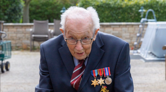 A Knighthood for Captain Tom Moore