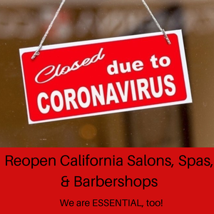 California Barbers, Cosmetologists, & Esthetician's back to work April 27th (Soft Opening)