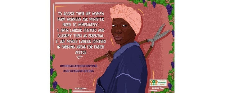Stand with struggling farm workers. Reopen Labour Centres + class them as essential services