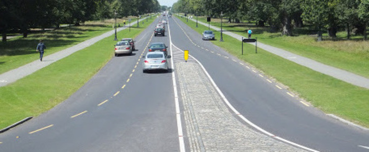 Allow Traffic to continue through the Phoenix Park