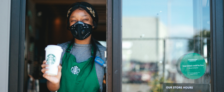 Continue to Keep Starbucks Cafe's Temporarily Closed due to COVID-19 Pandemic
