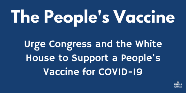 Support the People's Vaccine!