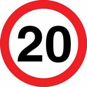 20mph in all residential areas