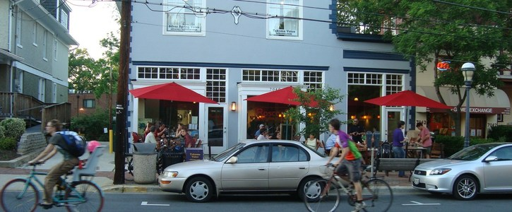 Petition to give traffic lanes and parking spaces to pedestrians, buses, and restaurants
