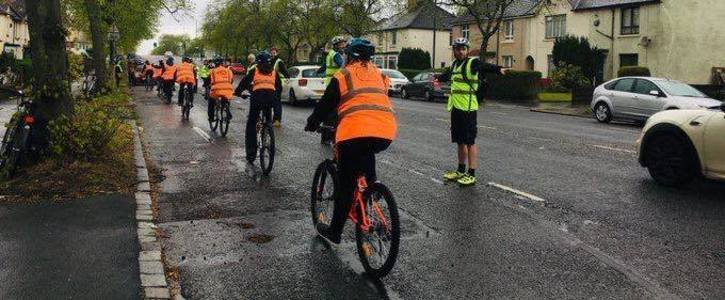 Introduce pop up cycle lanes on Cumbernauld Road