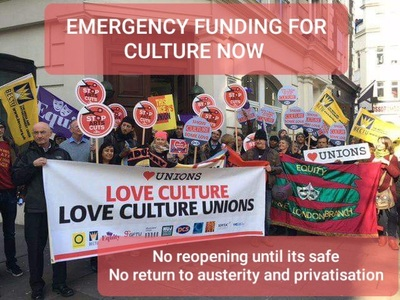 EMERGENCY FUNDING FOR CULTURE NOW