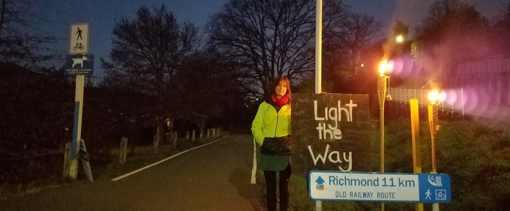 Light the Way 2020 (Railway Reserve, Nelson)