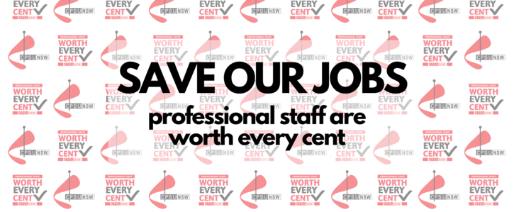 Save Our Jobs: Professional Staff are Worth Every Cent