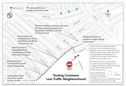 "** NO ** ""Tooting Commons"" LTN (Low Traffic Neighbourhood)"