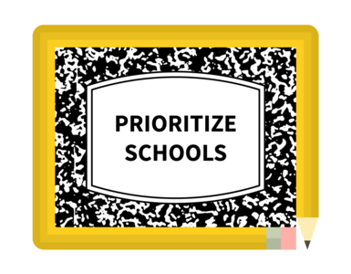 Prioritize Schools -- New Yorkers Demand a Real Plan for our Students and our City