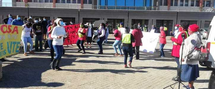 Pledge Solidarity with Eastern Cape Community Health Workers