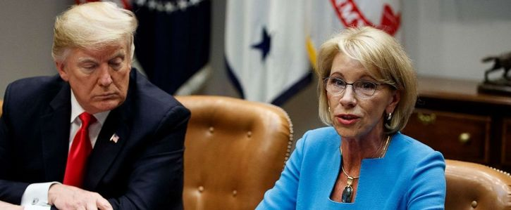 Tell Congress: Block DeVos from punishing schools that choose not to reopen!