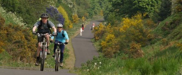 Ballinasloe MUST be on The Athlone- Galway Greenway Route