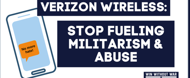 Tell Verizon Wireless: Stop fueling CBP's hate and abuse