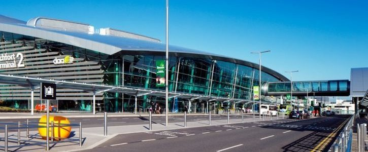 STOP Dublin Airport passenger drop-off and collect charge.