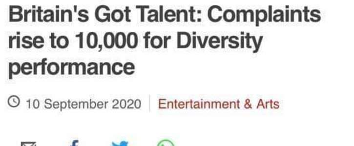 Support Diversity BLM performance