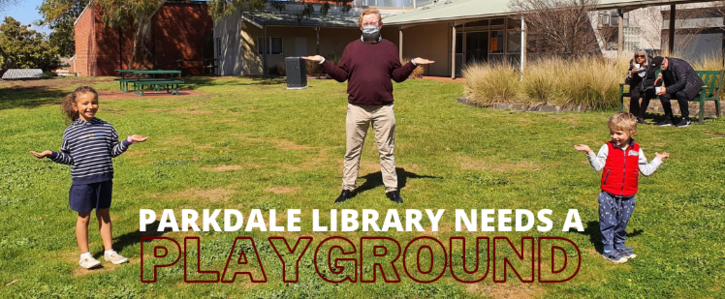 Parkdale Library needs a new playground