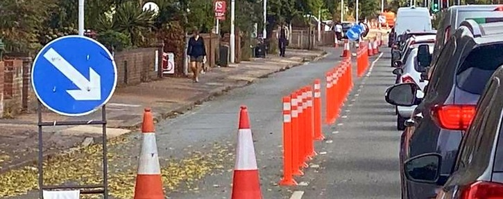 To keep and improve cycle lanes in Crawley