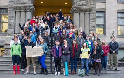 Whitman College: Go Fossil Free!