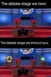 Allow Jo Jorgensen (Libertarian) and Howie Hawkins (Green) on the presidential debate stage