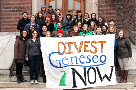 SUNY College at Geneseo: Go Fossil Free!